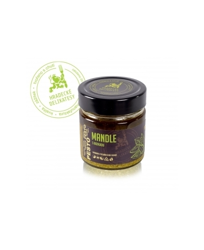 Mandlové pesto 170g, HD