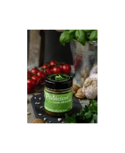 Pistáciové pesto s chilli 100g, HD