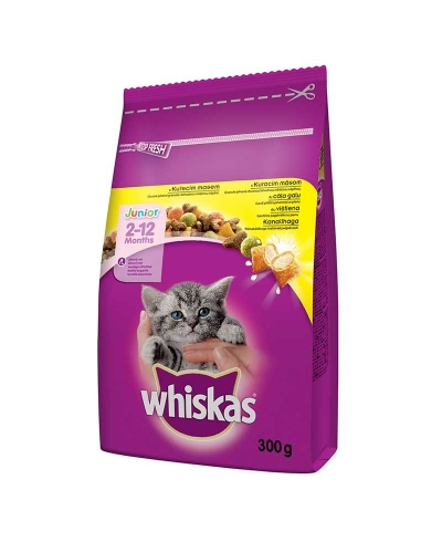 Granule Junior kuřecí maso 300g WHISKAS