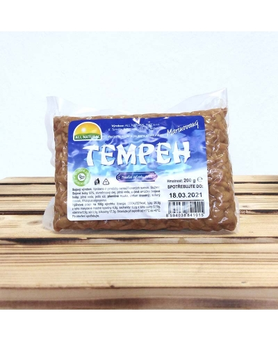 Tempeh marinovaný 200g, All Natural Way s.r.o.