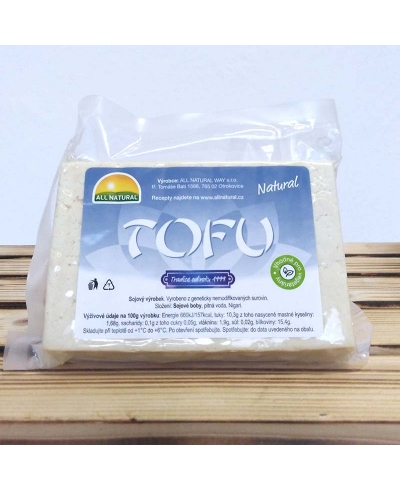 Tofu natural cca 200g, All Natural Way, s.r.o.