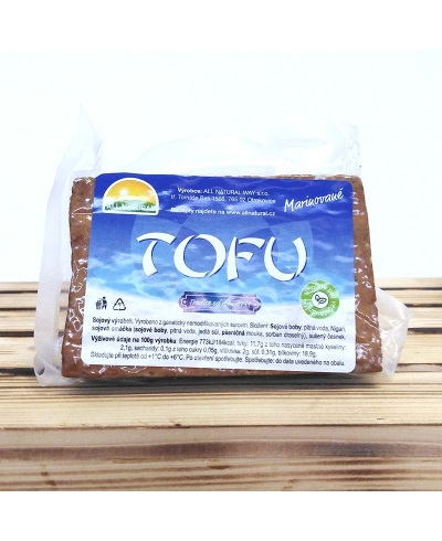 Tofu marinované cca 200g, All Naturall Way, s.r.o.