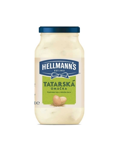 Tatarská omáčka Hellmans Original 225ml, Hellmans